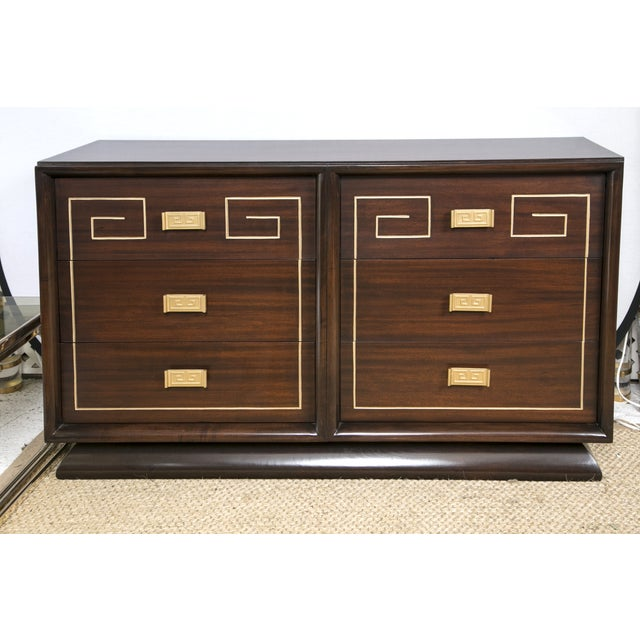 Tommi Parzinger Style Gold Detailed Sideboard - Image 3 of 10