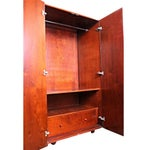 Image of Art Deco Wardrobe Cabinet