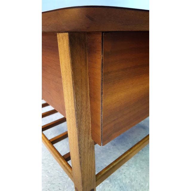 Mid-Century Lane Co. Single Drawer Side Table - Image 7 of 11