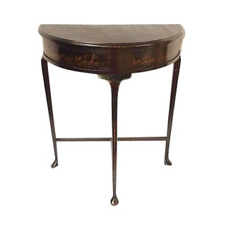 Chinoisere Demilune Table by Yeager