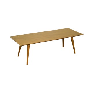 Paul McCobb Planner Group Mid Century Modern Maple Coffee Table (A)