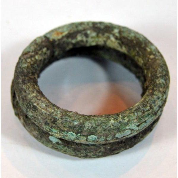 Antique Bronze Ban Chiang Bronze Bracelet - Image 7 of 8