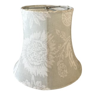 Shabby Chic Linen Lamp Shade