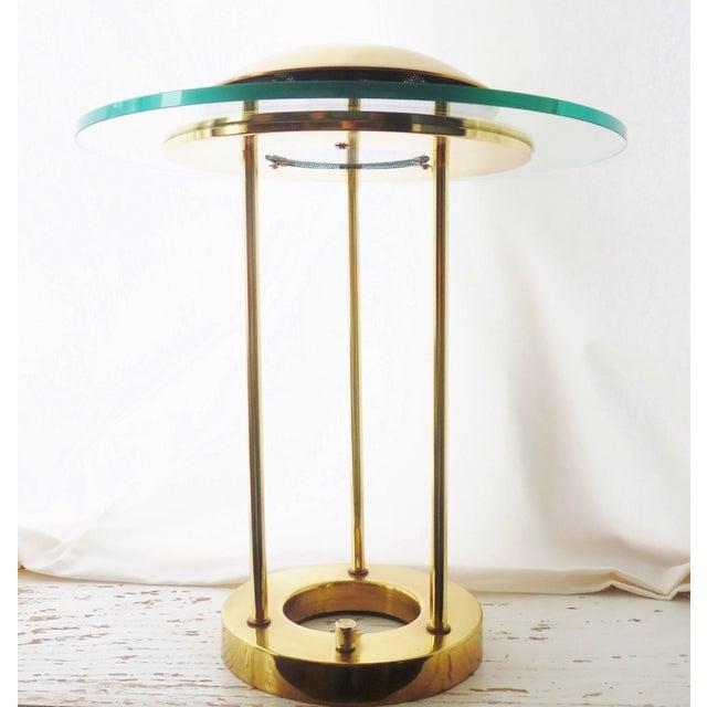 Image of Robert Sonneman Brass Table Lamp for George Kovacs