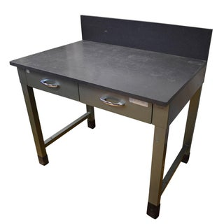 Slate Top Steel Desk