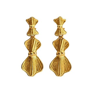 Bow Dangle Earrings