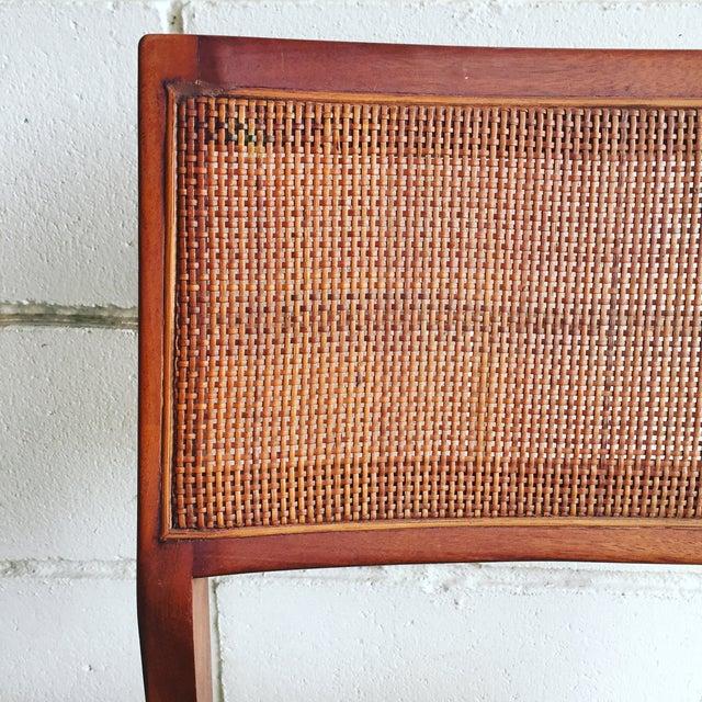 Mid-Century Walnut Dining Chairs - Set of 4 - Image 7 of 7