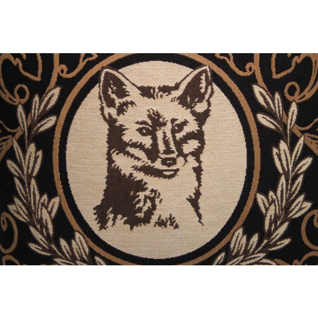 Fox Tapestry Pillow Cover - Image 3 of 4