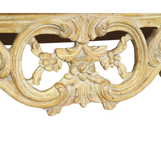 Vintage Onyx-Top French-Style Console Table - Image 6 of 6