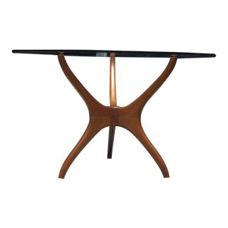 Adrian Pearsall Glass Top Side Table