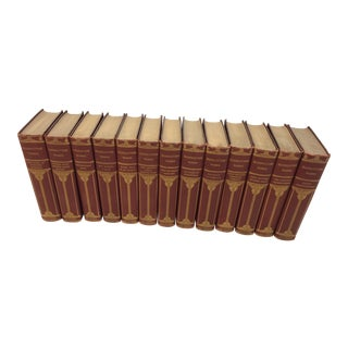 Antique Set of Bulwer-Lytton's Works 13 Volumes