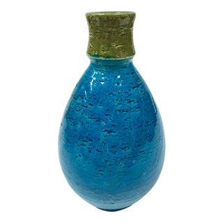 Vintage Bitossi Blue & Green Vase