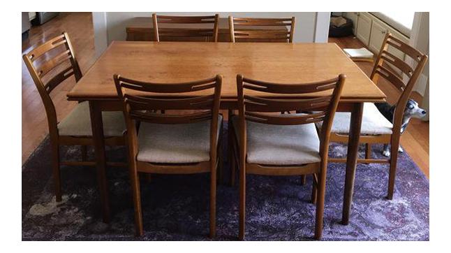 VintageUsed Dining TableChair SetsChairish