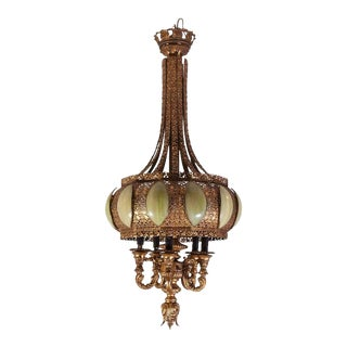 Hollywood Regency Moroccan Chandelier