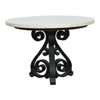 Wrought Iron Small Side Table