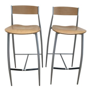 Sergio Mian Design Within Reach Babo Barstools - Pair
