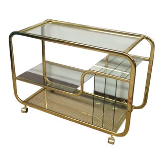 Vintage Mid-Century Bar Cart