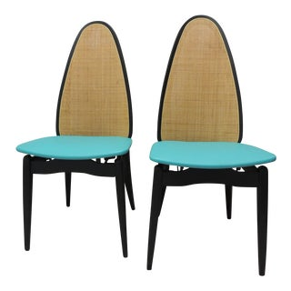 Stakmore Mid-Century Folding Chairs - A Pair