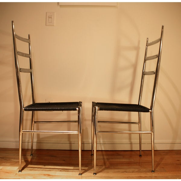 Ponti / Starck Superleggera Ladderback Chairs - 2 - Image 4 of 5