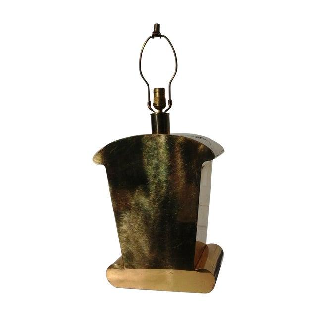 Brass Art Deco Chapman Lamp - Image 1 of 6