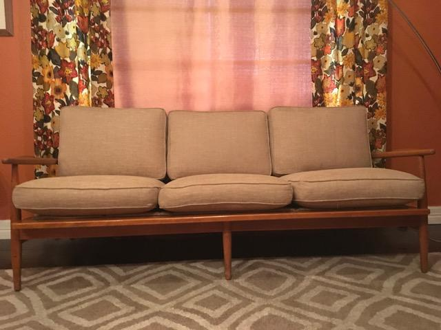 conant ball midcentury modern sofa image 2 of 11