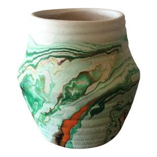 Miniature Green Nemadji Vase