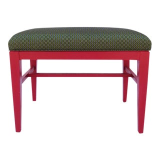 Mid-Century Tribal Accent Bench II