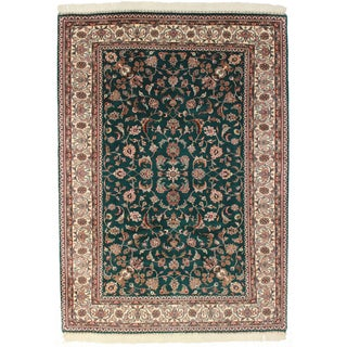 Indian Rug, Persian Pattern - 6′1″ × 8′5″