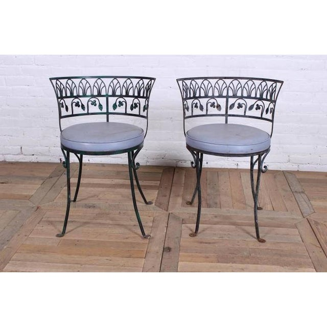 Image of Pair of Grand Tour Style Salterini Garden Chairs, after the Greek Antique