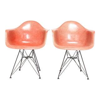 Vintage Eames Fiberglass Armchairs - A Pair