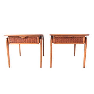 Vintage Lane Mid-Century Side Tables - a Pair