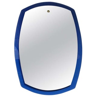 Large Wall Mirror in the Style of Fontana Arte, Italy circa 1965