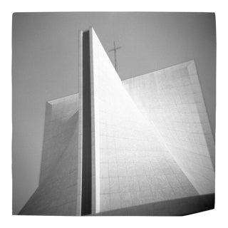 Cathedral Black & White Photograph