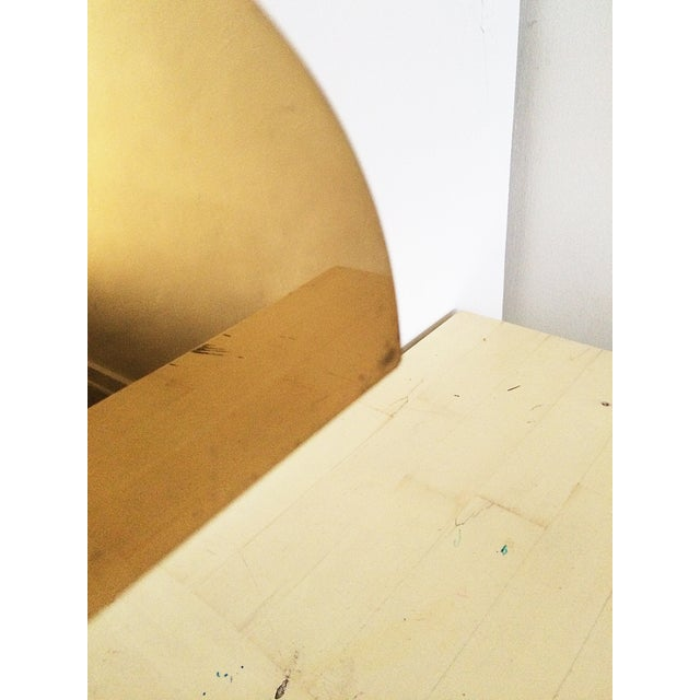 Koch and Lowy Brass Demilune Table Lamp - Image 9 of 11