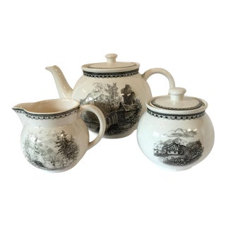 Vintage Villeroy & Boch Tea Set - Set of 3