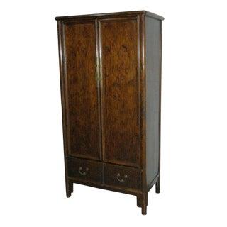Antique Chinese Elmwood Armoire
