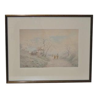 Japanese Landscape by Shigesaburo Ishida
