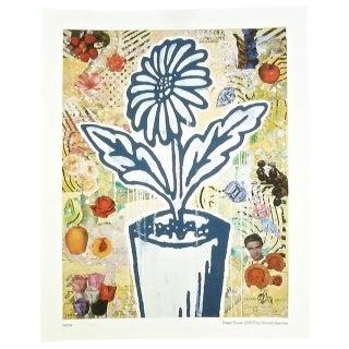 Donald Baechler Print, Potted Flower