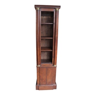 Antique French Clock-Case Bookcase