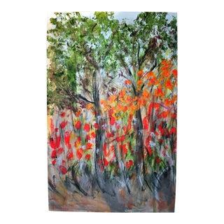 Orange Flowers by Tony LaSalle