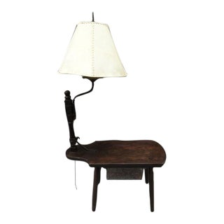 Monterey Classic Swing Arm Lamp Side Table