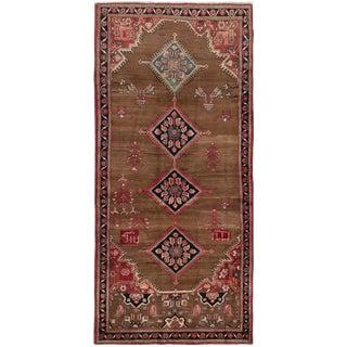 Enchanted Semi Antique Persian Runner - 4′4″ × 9′3″