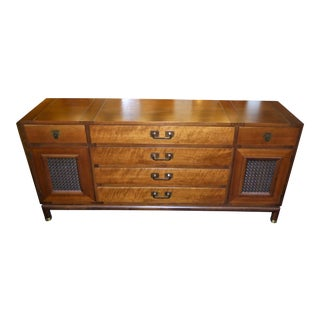 Fine Bert England Walnut Sideboard for Johnson Furniture