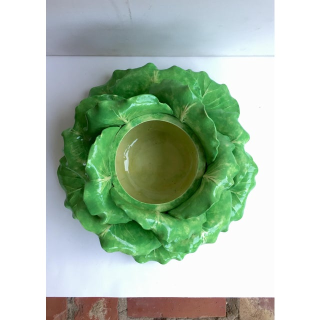 Dodie Thayer Cabbage Form Tureen - Image 3 of 6