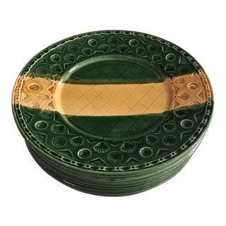 'Lyon' Italian Pottery Plates - Set of 6