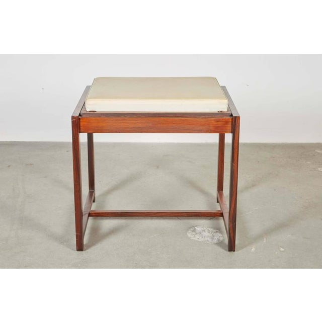 Danish Reversible End Table / Ottoman - Image 3 of 8