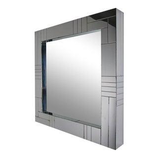Paul Evans for Directional Chrome Cityscape Mirror