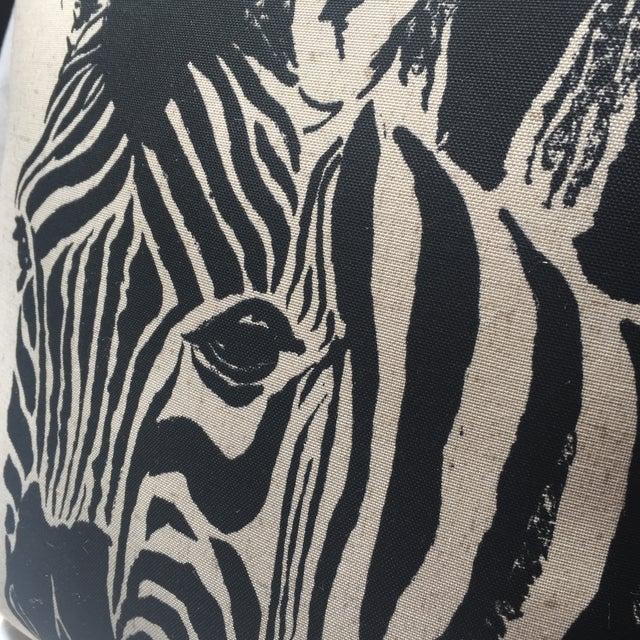 Zebra Print Pillow - Image 4 of 7