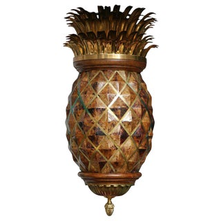 Maitland Smith Pineapple Chandelier