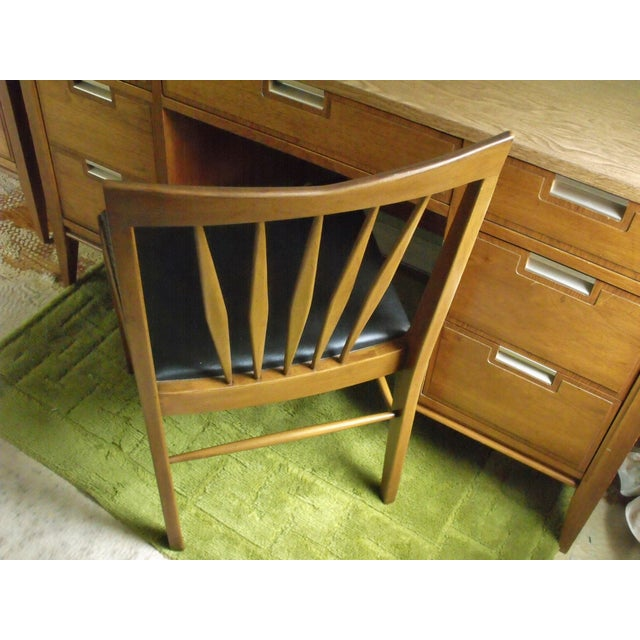 John A. Colby & Sons MCM Walnut Desk Chair - Image 5 of 8